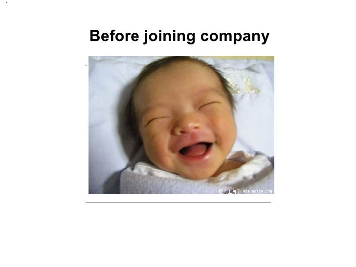 Before joining company