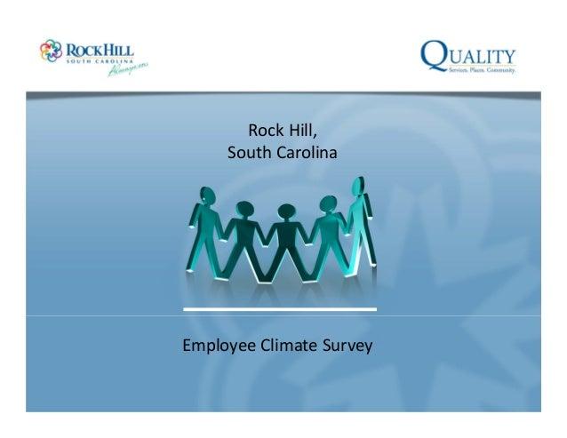 EmployeeClimateSurvey RockHill, SouthCarolina