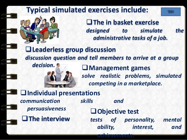 leaderless group discussion Start studying chapter 11 learn vocabulary, terms, and more with flashcards, games, and other study tools search in a leaderless group discussion.
