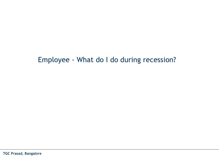 Employee What To Do During Recession