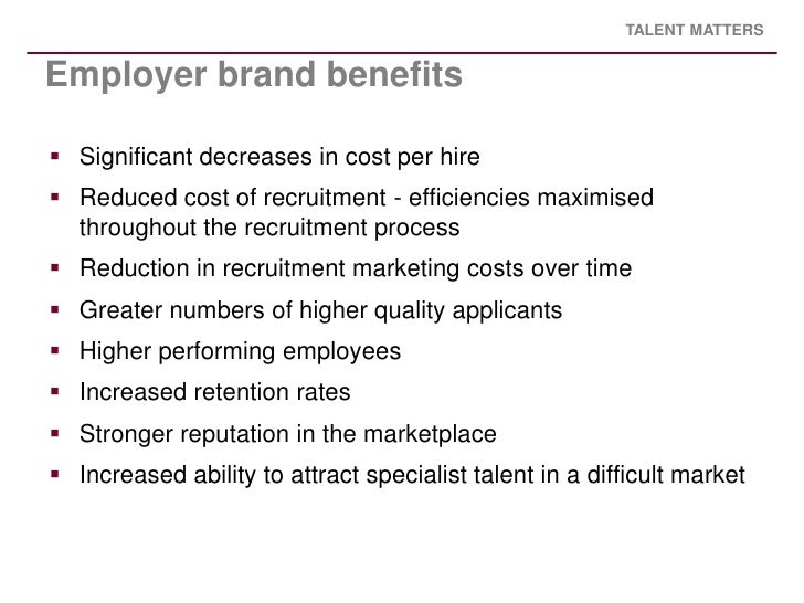 Thesis on employer branding