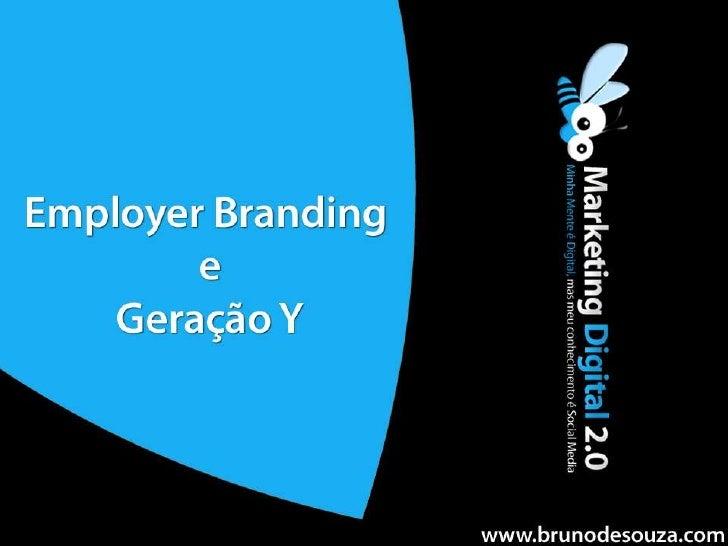 Employer Branding e Geração Y