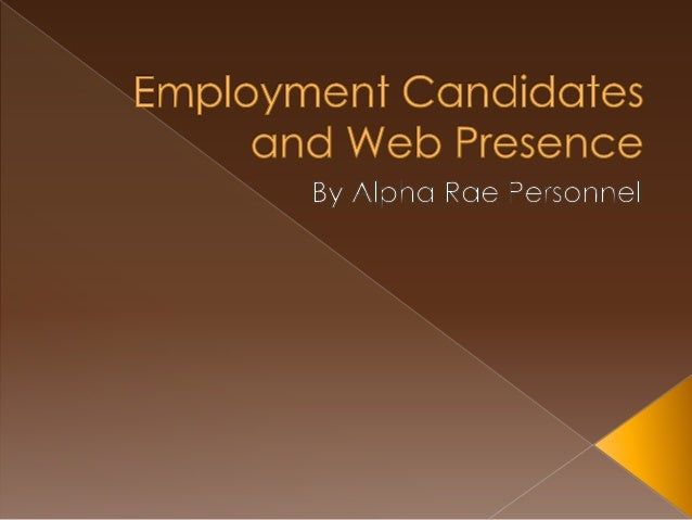 employment and falsification job candidates Similarly, interviews — especially unstructured ones — are subjective and ultimately serve as poor predictors of job performance in contrast, properly developed and well-validated tests are a reliable and objective means of gathering job-related information on candidates pre-employment tests introduce an element of.