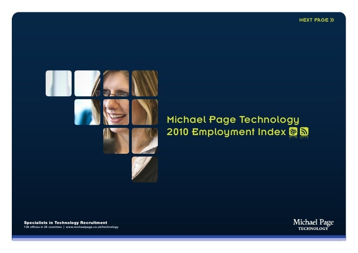 NEXT PAGE                                                                      Michael Page Technology                    ...