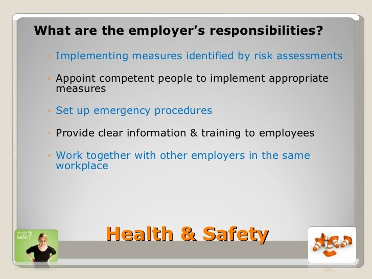 employee rights and responsibilities essay Employees have rights and responsibilities when it comes to safety workers have the right to a safe hazard-free atmosphere at work and employers must give workers access to information regarding.
