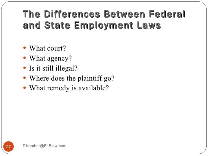 introduction to employment law Age discrimination and employment act in nebraska introduction age discrimination and employment act in or employment law generally is.