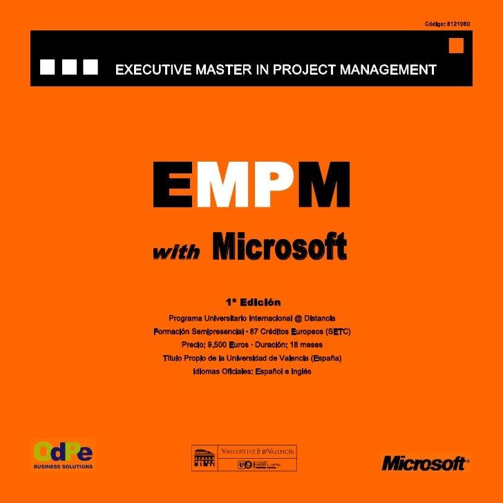 Empm Microsoft Castellano Vd