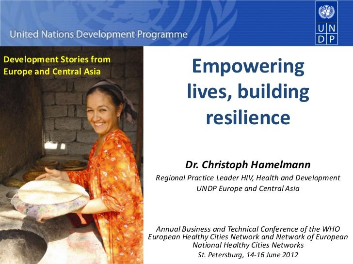Empowering lives, building resilience