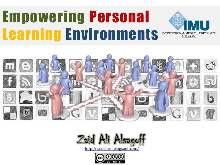 Empowering PLEs