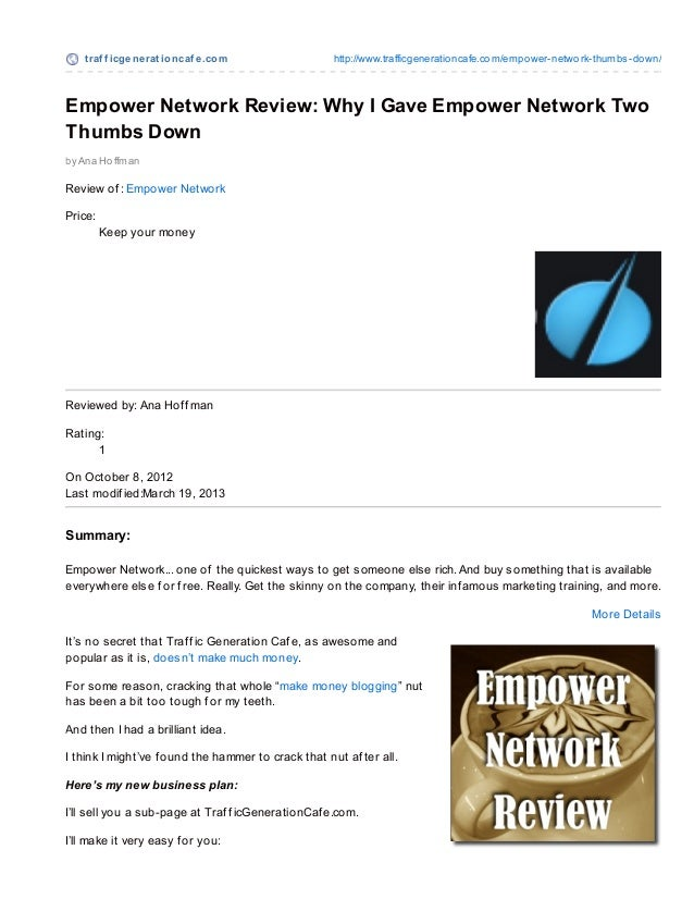 Empower Network: To Jump on the Bandwagon or NOT to Jump?