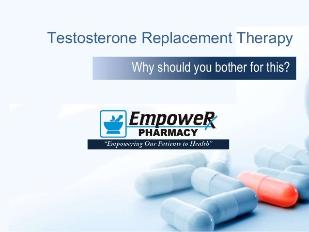 Testosterone Replacement Therapy Why should you bother for this?