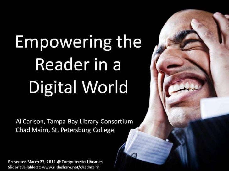 Empowering the Reader in a Digital World