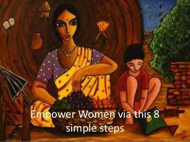 Empower Women via this 8 simple steps