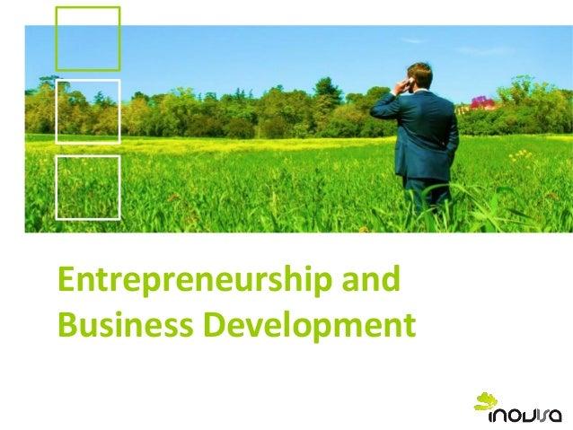 Entrepreneurship and Business Development