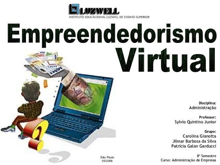 Empreendedorismo Virtual
