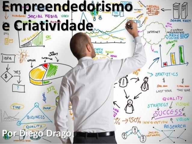 Empreendedorismo e Criatividade Por Diego Drago.