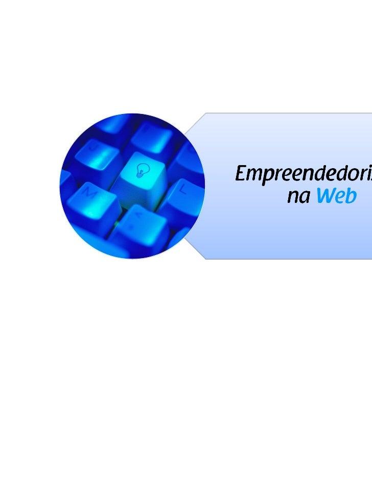 Empreendedorismo     na Web