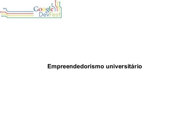 Empreendedorismo universitário