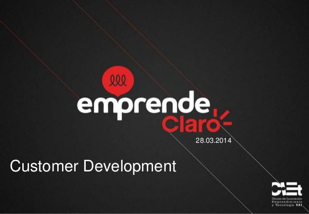 Workshop Customer Development