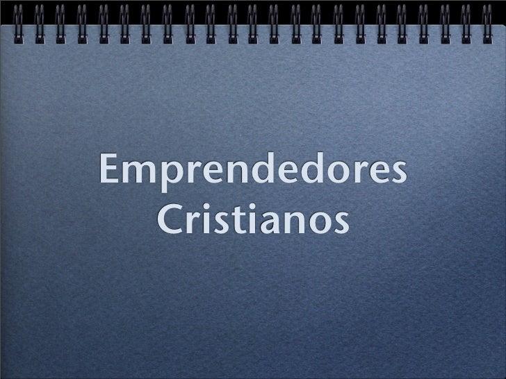 Emprendedores  Cristianos