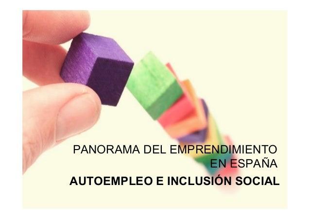 El emprendimiento juvenil en España 2013.pptx