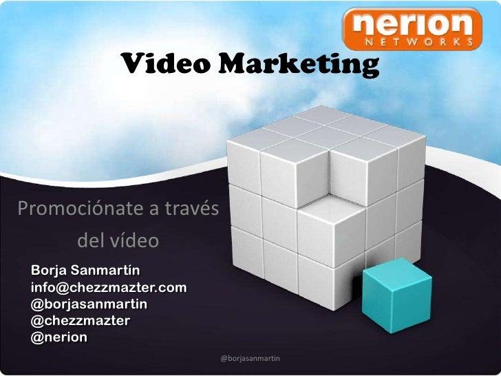 EmprendeRed -  Borja Sanmartín - Video marketing