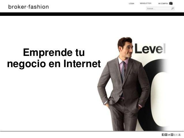 Emprende tunegocio en Internet