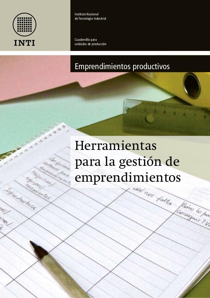 herramientas para la gestión de emprendimientos                                                                 página 35I...