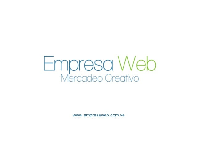 Empresa Web Servicios - Agencia de mercadeo y publicidad digital en Caracas - Venezuela
