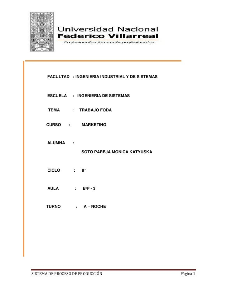 -128270-532765<br />FACULTAD   : INGENIERIA INDUSTRIAL Y DE SISTEMAS <br />ESCUELA     :   INGENIERIA DE SISTEMAS <br />TE...