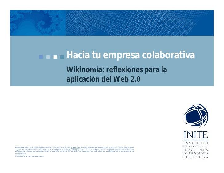 Empresa Colaborativa V2009