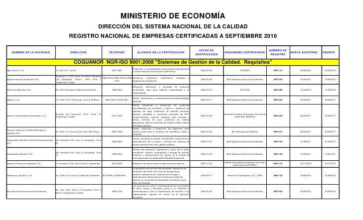 MINISTERIO DE ECONOMÍA                                                                                             DIRECCI...