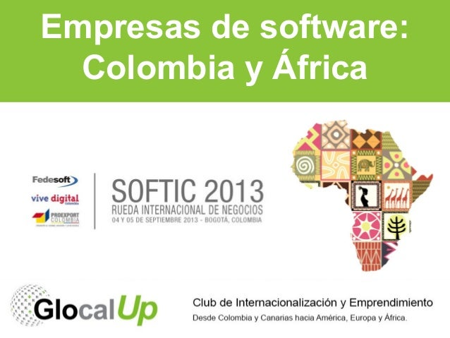 Empresas de software: Colombia y Africa