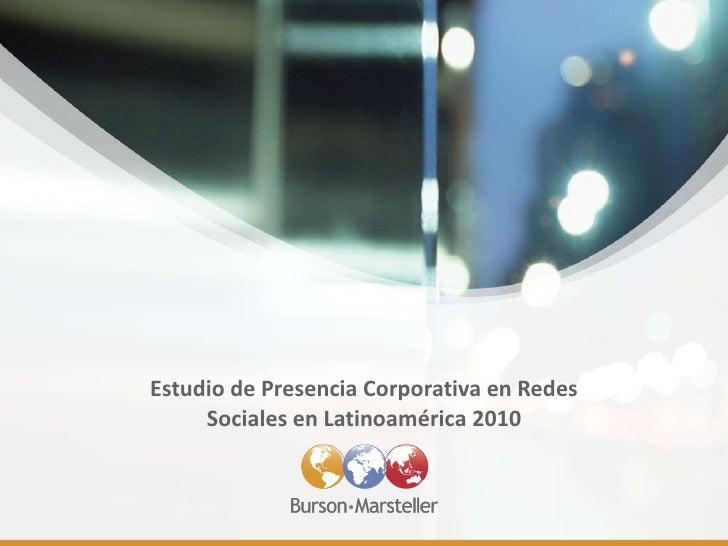 Empresas y social media marketing en latinoamérica