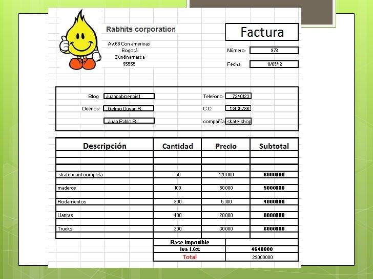 Rabhits corporation                                                                                     Factura           ...