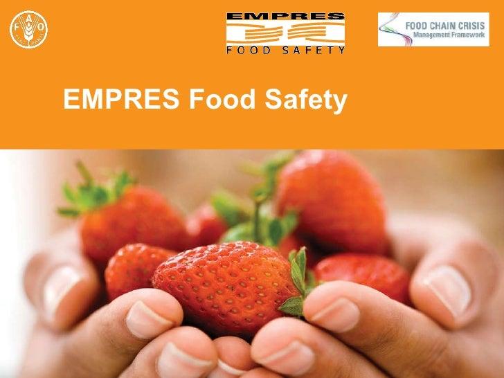 EMPRES Food Safety