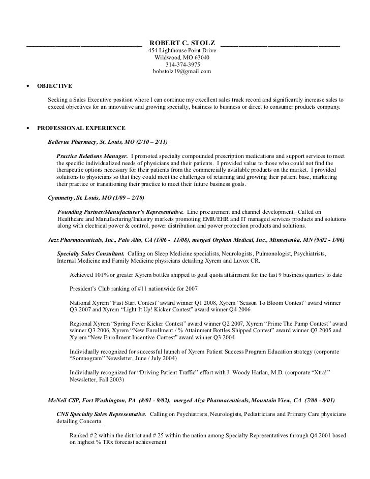 emp robert c stolz resume w bp sales exec specialty b2 b