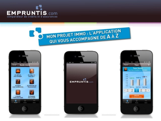 Empruntis - Application Iphone gratuite