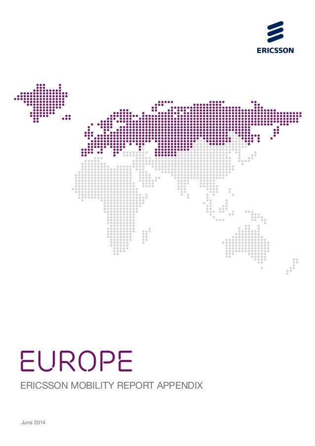 EUROPE ERICSSON MOBILITY REPORT APPENDIX June 2014