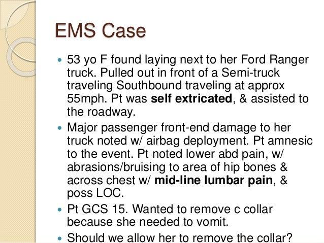 Grade 7 ems case studies