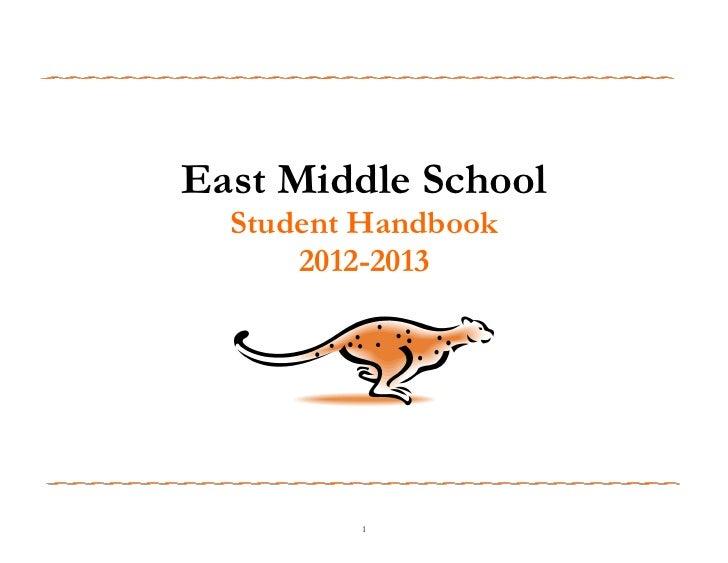 Ems student handbook  2012 2013