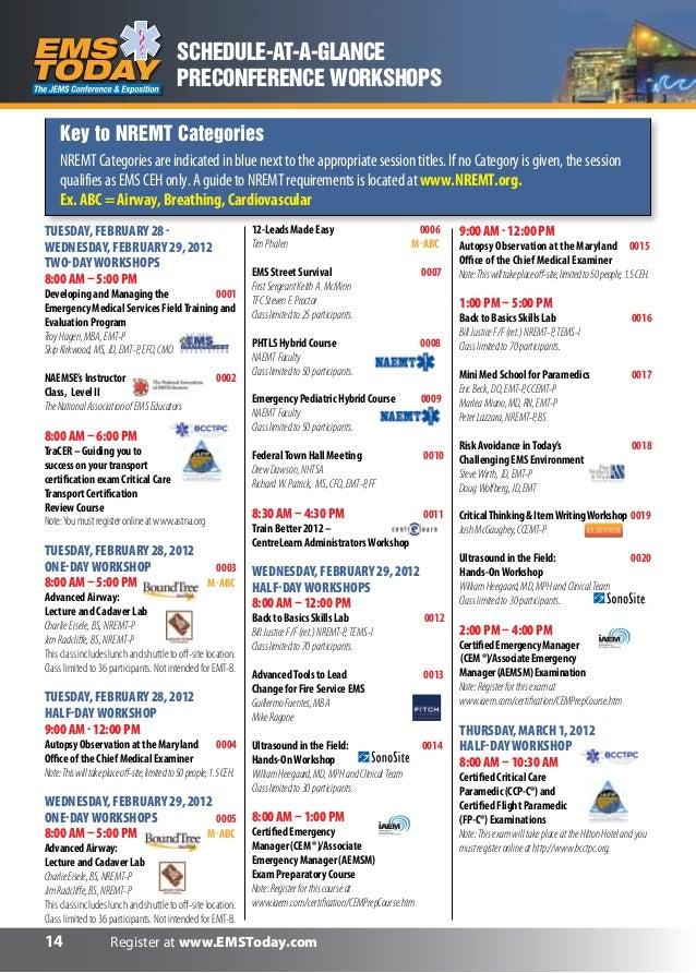 Emst12 schedule ata glance-web2
