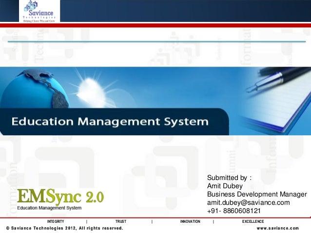Emsync - Education Management System ERP