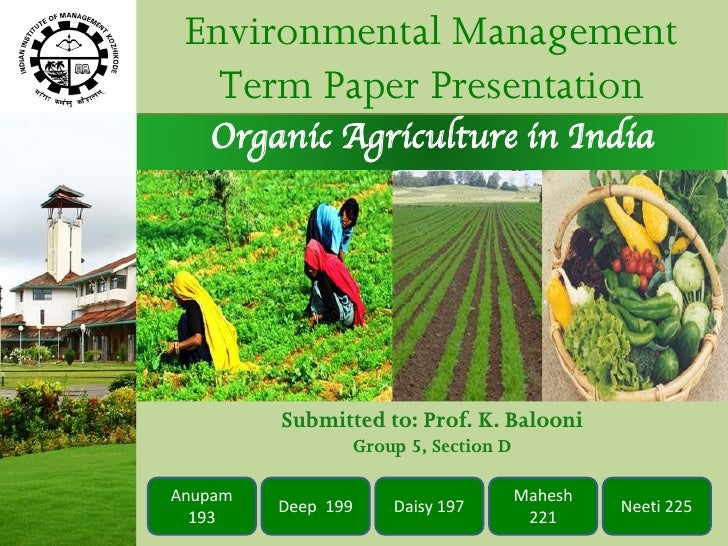 research papers on organic farming Free essay: another paper published in the journal of applied ecology 2001 found that organic methods to grow tomatoes can promote biodiversity while.