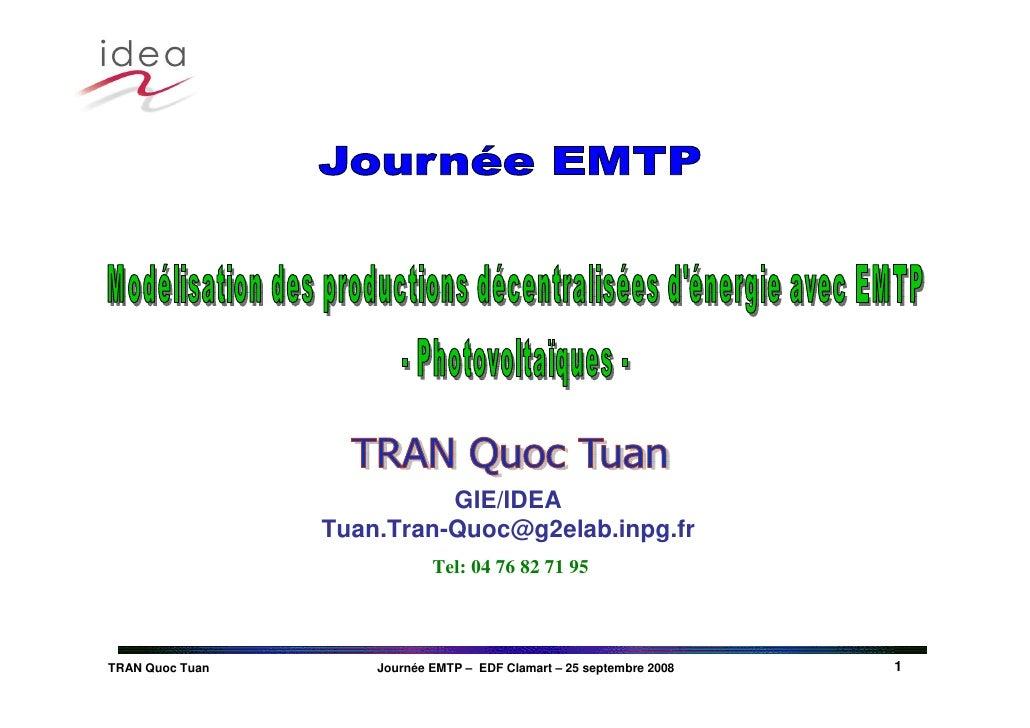Emtp User Group092008 Idea P Vgeneration Web