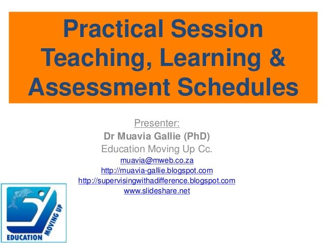 Practical session - CAPS and TLAs process steps