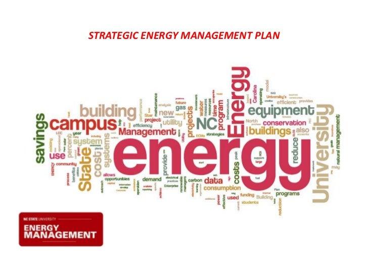 STRATEGIC ENERGY MANAGEMENT PLAN<br />