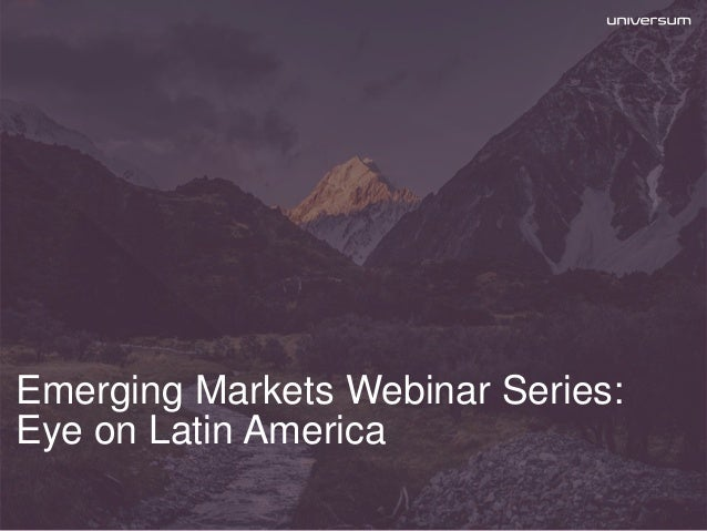 emerging markets in latin america Ishares msci emerging markets latin america etf (eeml) 08/23/2016: closing price on final trading day of fund:  ishares msci emerging markets energy capped etf (emey).