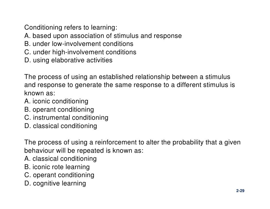 classical c onditioning essay Other characteristics of classical conditioning there are, of course.
