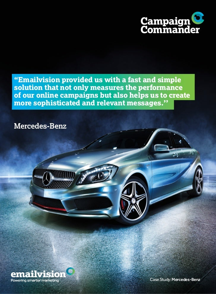 a case study of mercedes benz Read mercedes benz case study free essay and over 88,000 other research documents mercedes benz case study abstract do you know what is world ranking of mercedes-benz in most famous brands do you know what is the.